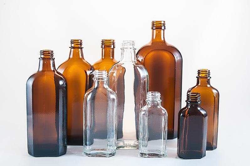 Metaplatflaschen